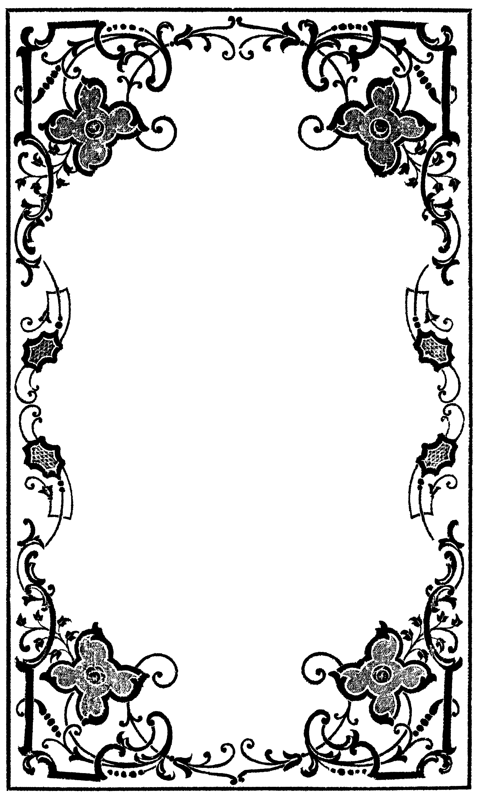fancy border template