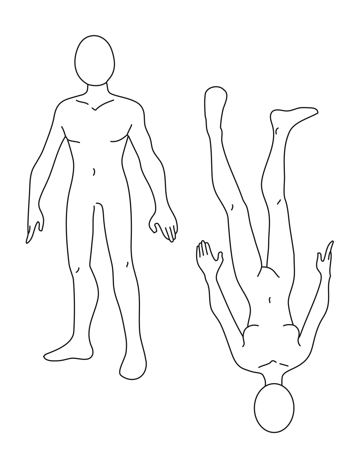Human body outline printable cliparts pin figure drawing poses male cake on pinterest maxwellsz