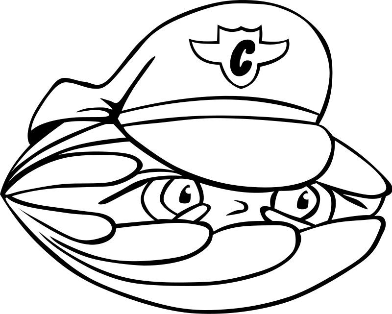 Sea animals clam coloring pages kids colouring pages for Clam coloring page