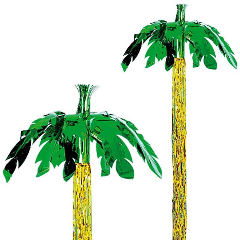 8ft Palm Tree Hanging Foil Party Decoration