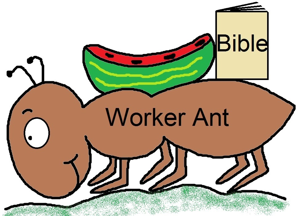"Church House Collection Blog: ""Let's Be Like An Ant"" Folder ..."