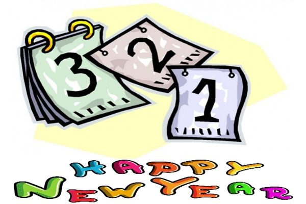 New Year S Day Clip Art - Cliparts.co