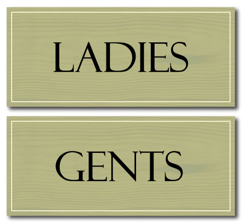 Toilet Signs Cliparts Co