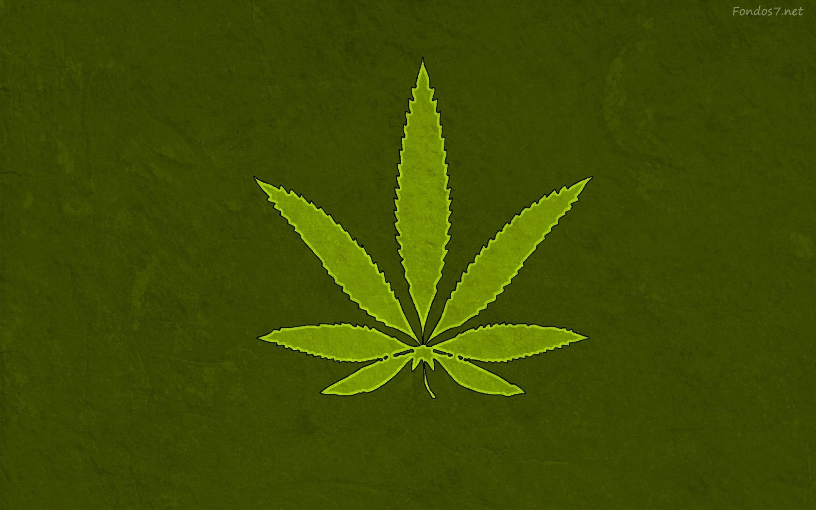 Descargar Fondos De Pantalla Hoja De Marihuana Hd