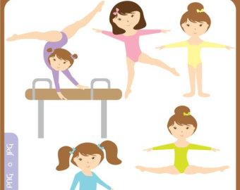 Free Clip Art Gymnastics Cartoon