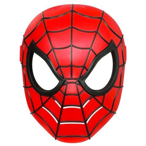 Как сделать маску спайдермена