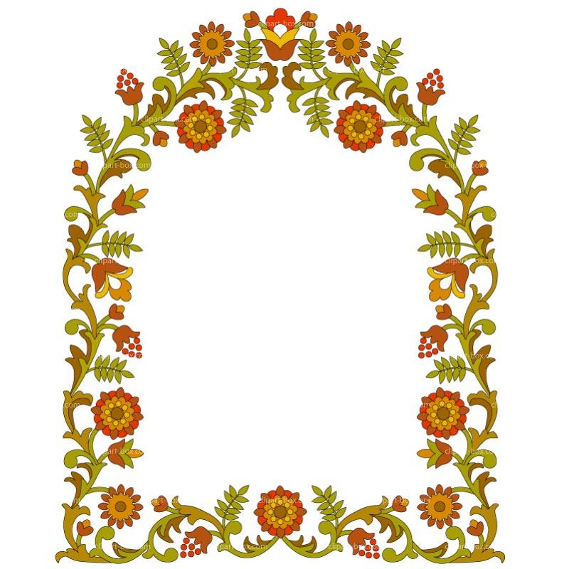 Flower Frame Clipart