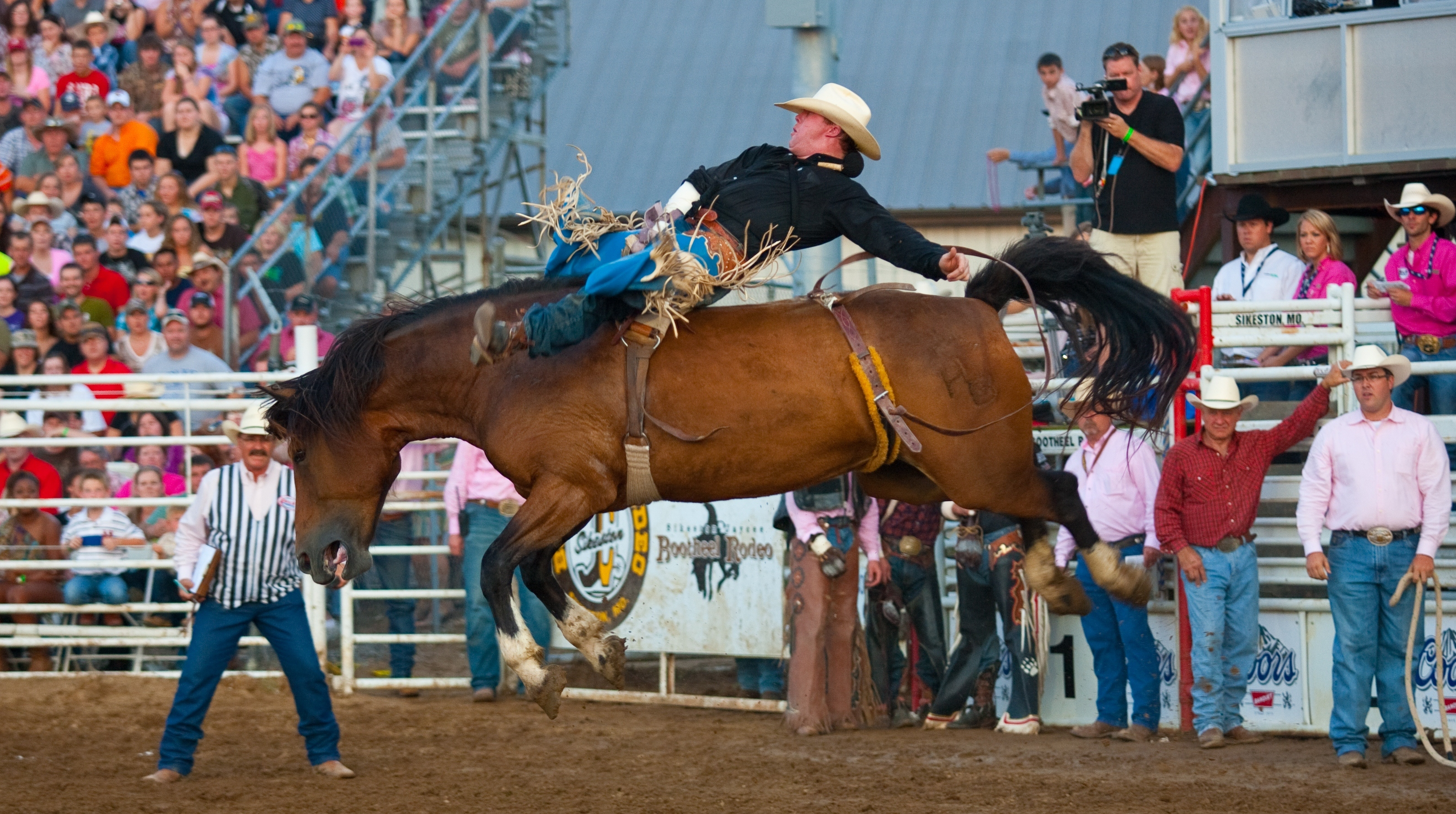 Saddle Up For Fun At Sikeston Jaycee Bootheel Rodeo