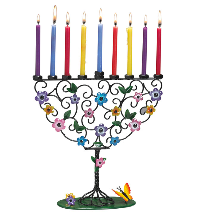 Jewish Holidays - Hanukkah - Menorah Shop - Children's Menorahs