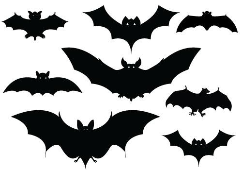 free halloween clipart bats - photo #31