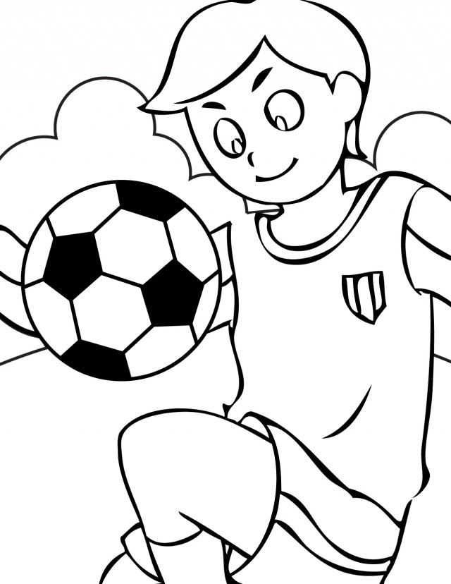 Soccer Ball Coloring Pages C0lor 246823 Soccer Ball Coloring Page -  Cliparts.co