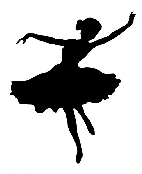 Smart image with regard to ballerina silhouette printable