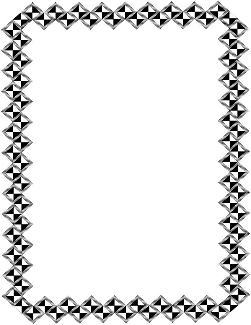 Graphic Design Border Mail