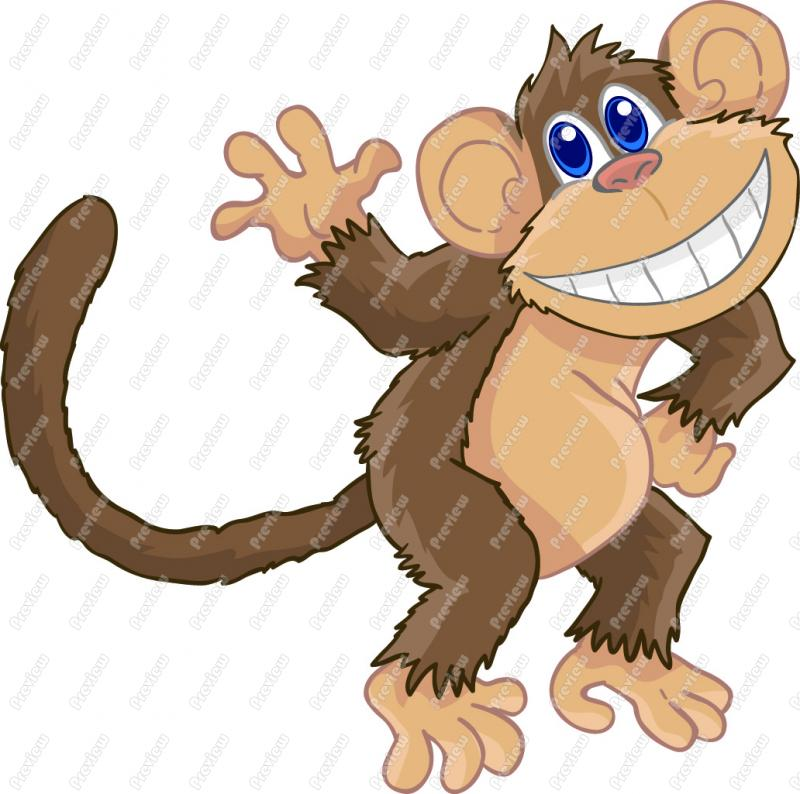 Monkey Clip Art Cartoon | Clipart Panda - Free Clipart Images