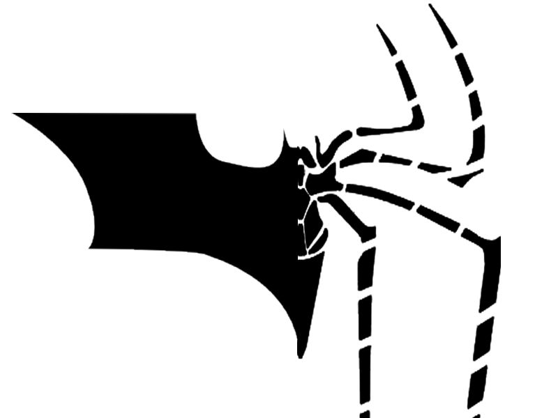 Spider-man batman logo fusion by ShiningKnight23 on deviantART