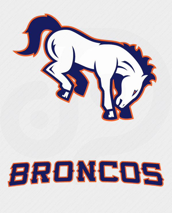 Denver Broncos Logo Vector Black And White Images & Pictures - Becuo