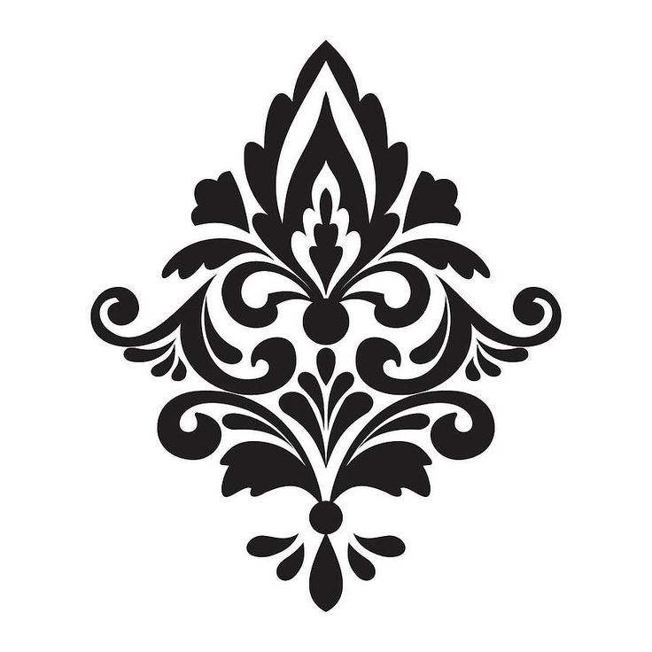Damask Clip Art - Cliparts.co