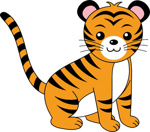 Baby Tiger Face Clip Art | Clipart Panda - Free Clipart ...