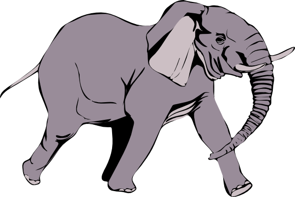 Clipart Elephant - Cliparts.co