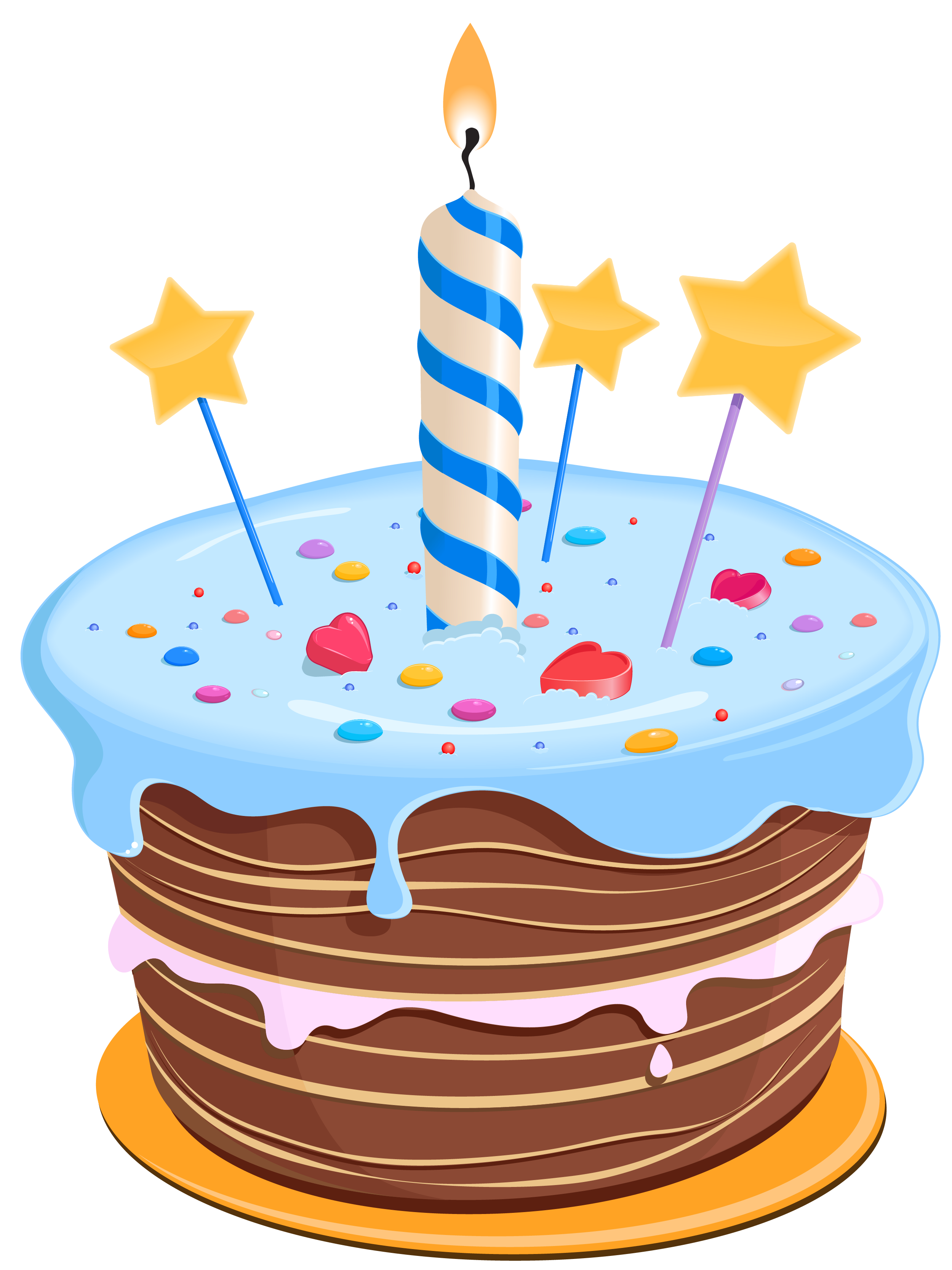 Clip Art Of Birthday Cake : Birthday Cake Pictures Clip Art - Cliparts.co