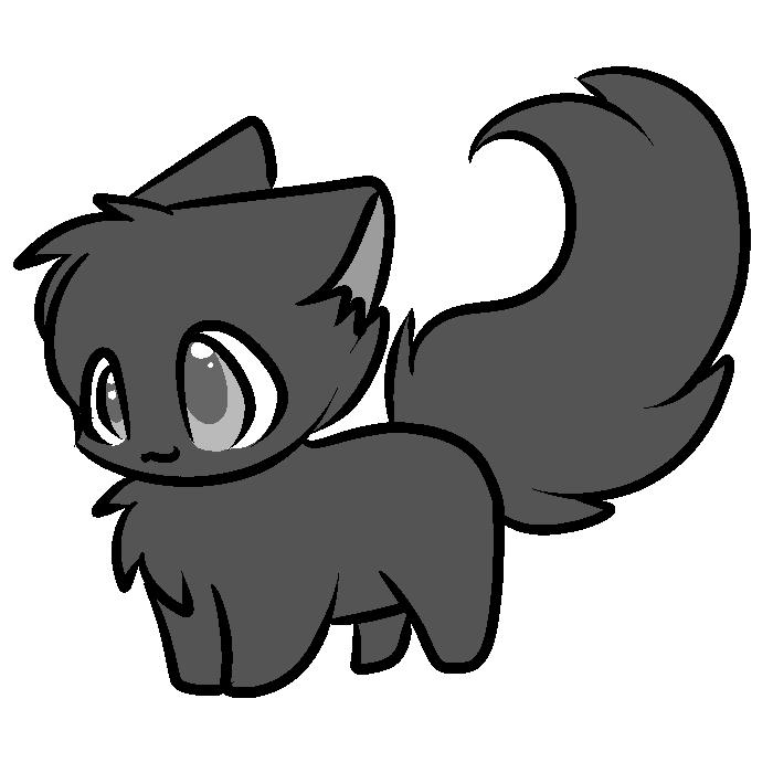 Cat Lineart : Cat line art cliparts