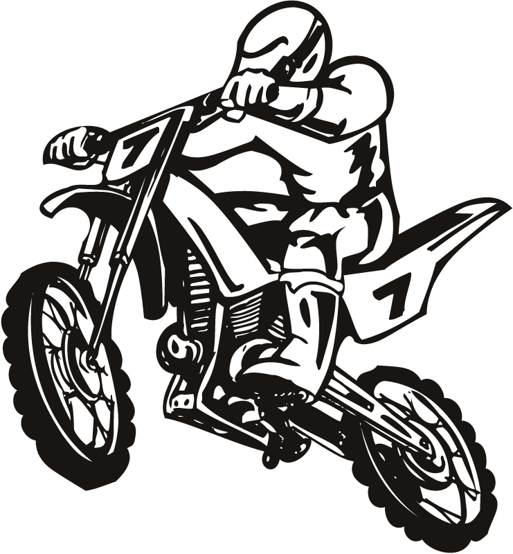 Dirt Bike Clip Art - Cliparts.co