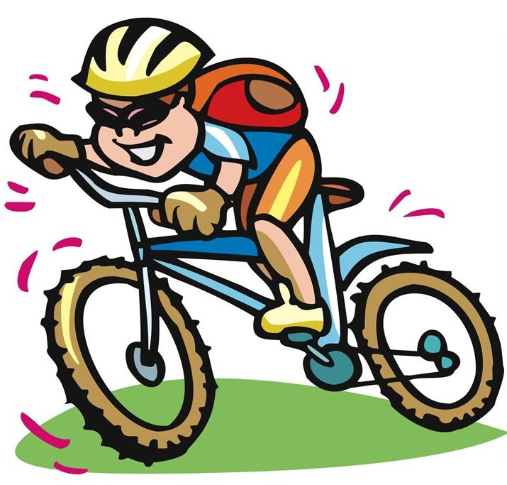 free clip art bike rider - photo #42