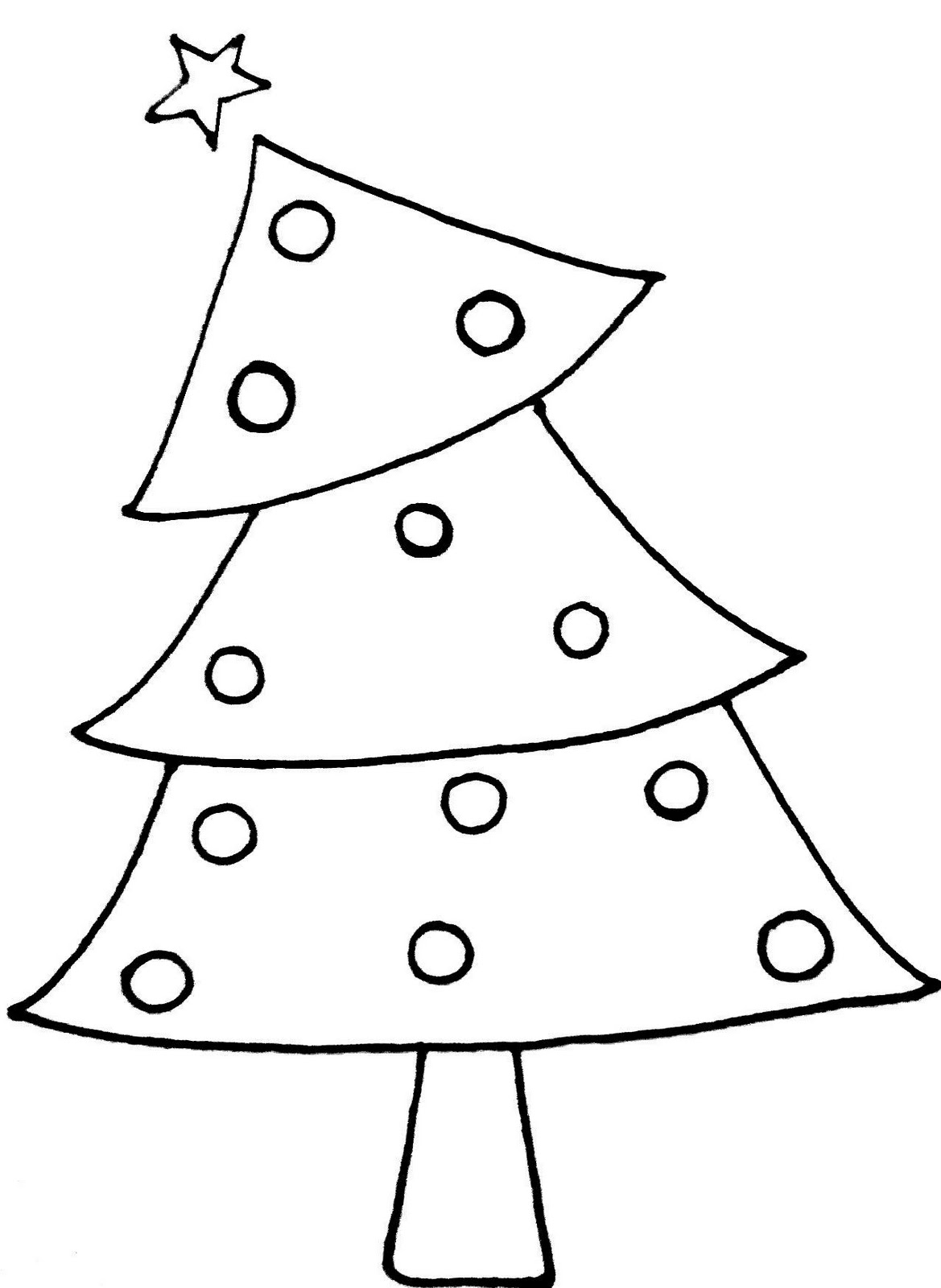 Best 28 Christmas Tree Black And White Clipart black