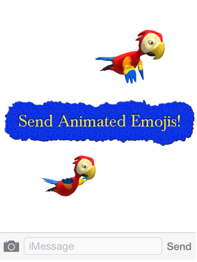 Real animated moving emoticon emojis ios store store top apps