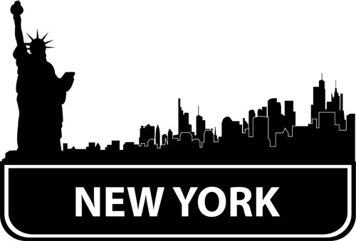 new york city clipart skyline - photo #41
