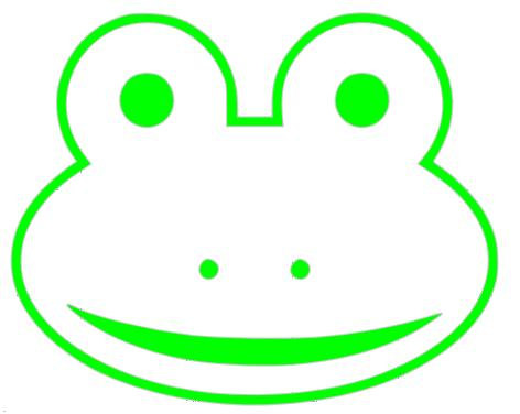 frog outline cliparts co cute frog clipart Cartoon Frog Clip Art