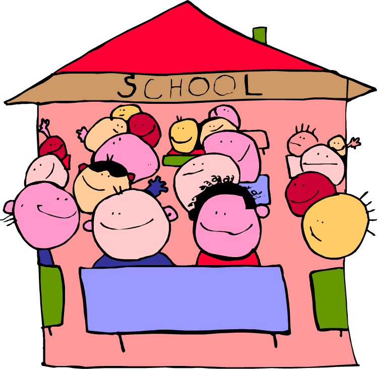 children school cartoon | www.yepod.com
