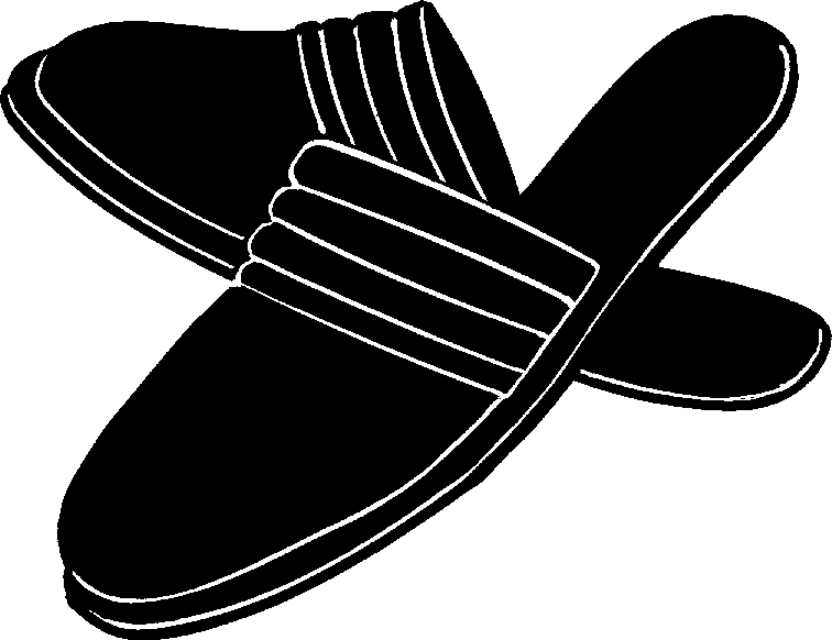 Pictures Of Slippers - Cliparts.co