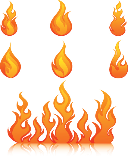 Different Flames icons design vector 03 - Other Icons free download