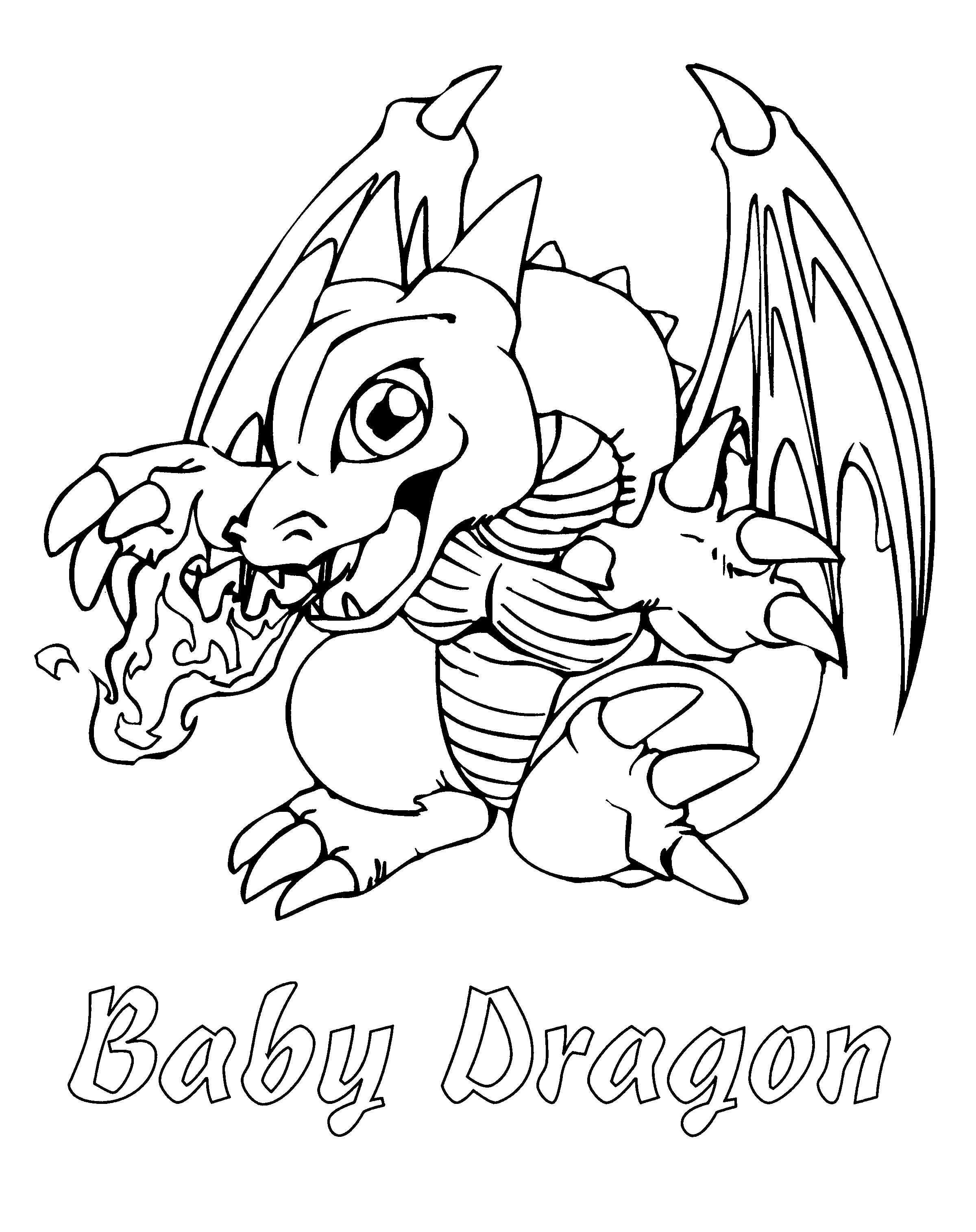 images for baby dragons black and white - Dragonvale Dragons Coloring Pages