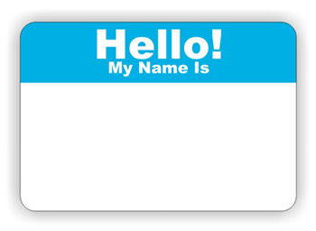 Name Tag Clipart - Cliparts.co