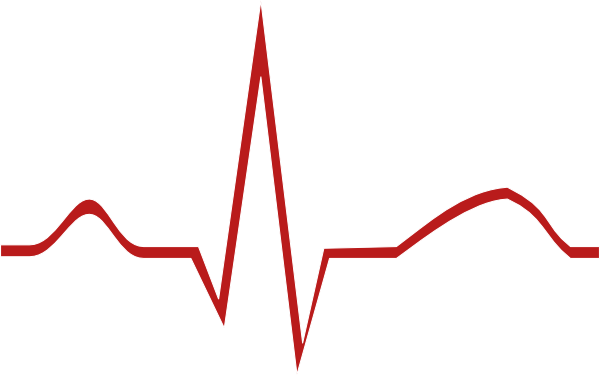 Heartbeat Line Clipart Black And White Images & Pictures ...