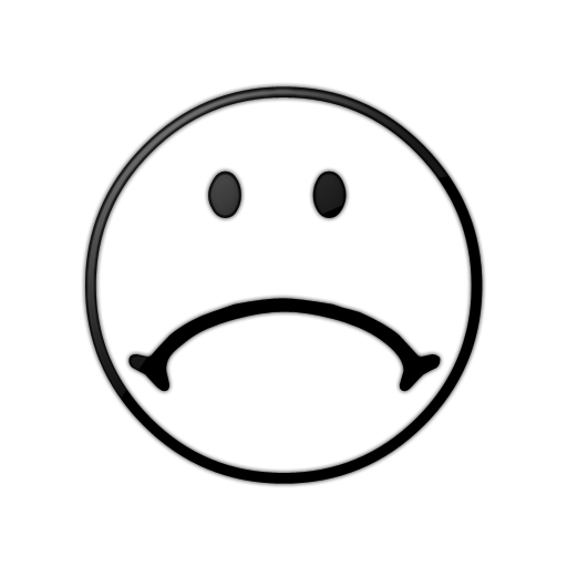 Cartoon Frowny Face - Cliparts.co