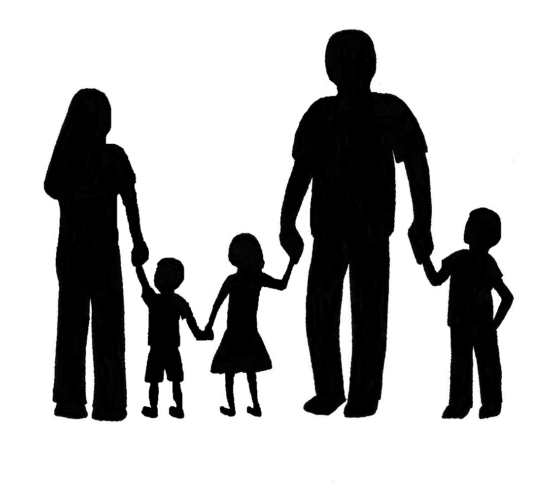Images For  Family Png Family Silhouette Clip Art