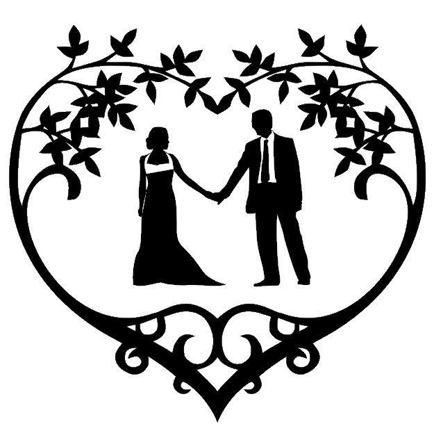 free clipart of wedding couple - photo #44