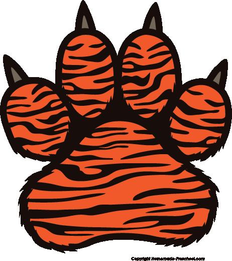 tiger print clip art - photo #5