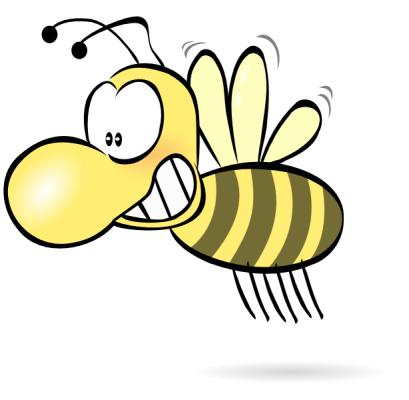 Bee1234 Clip Art at Clker.com - vector clip art online, royalty free &  public domain