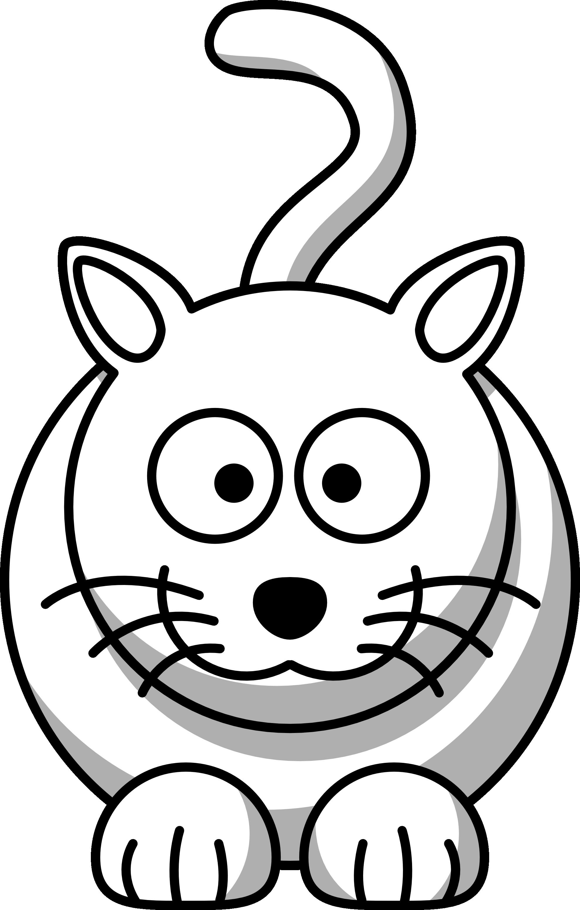 Clip Art Animals Black And White - Cliparts.co