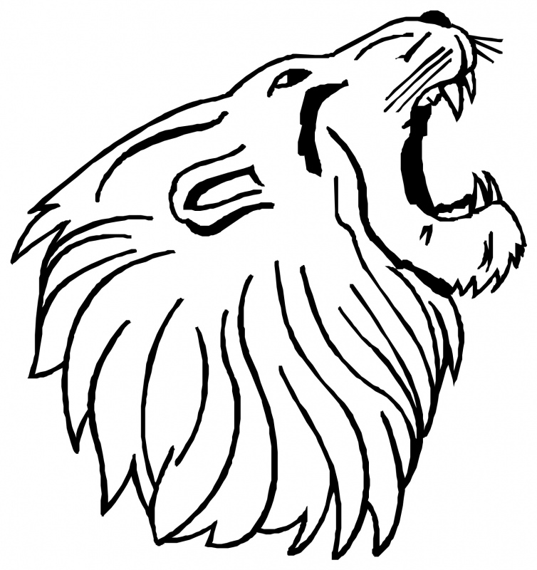 Lion Head Clip Art Cliparts Co