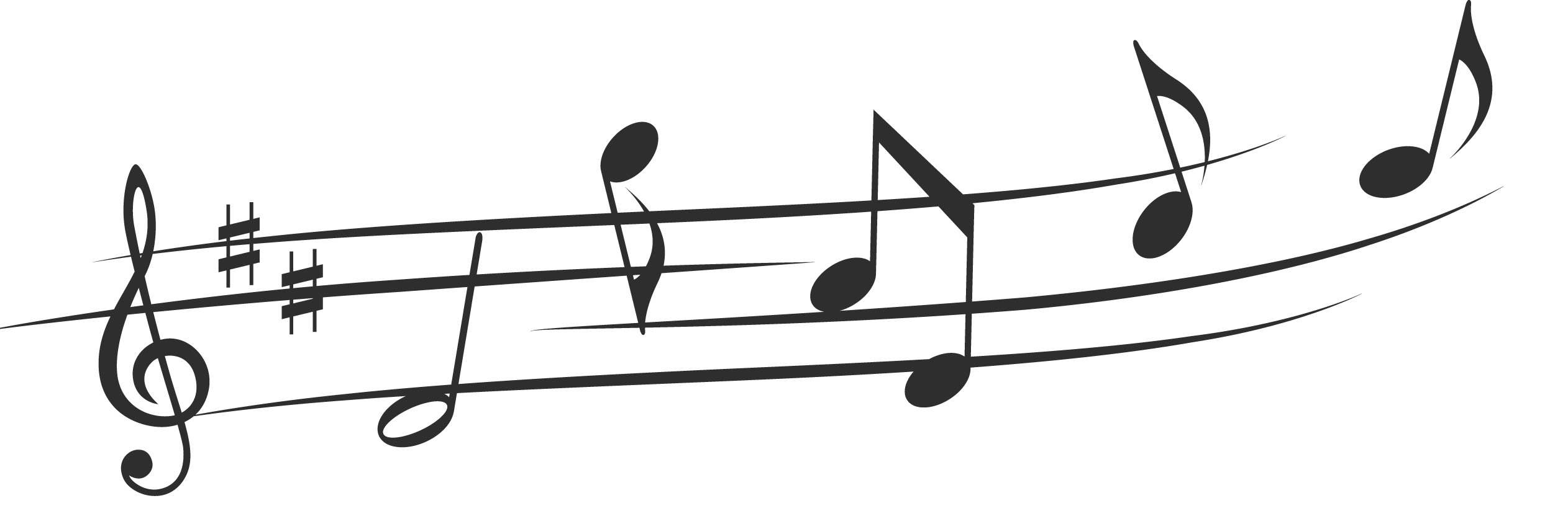 Musical Notes - Cliparts.co