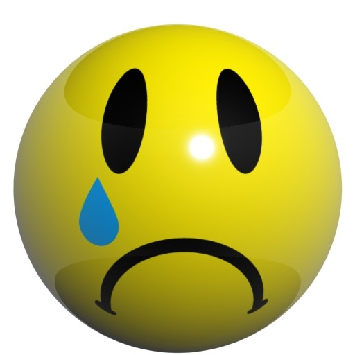 Sad Emoticon Animated - Cliparts.co