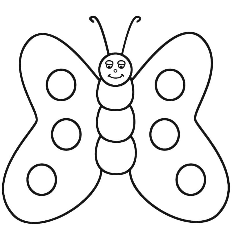 Erfly Coloring Pages Printable Az