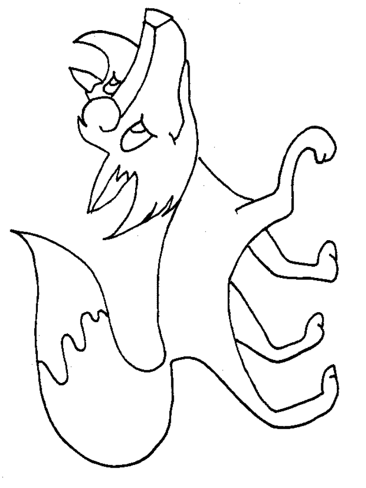 g fox co coloring pages - photo #20