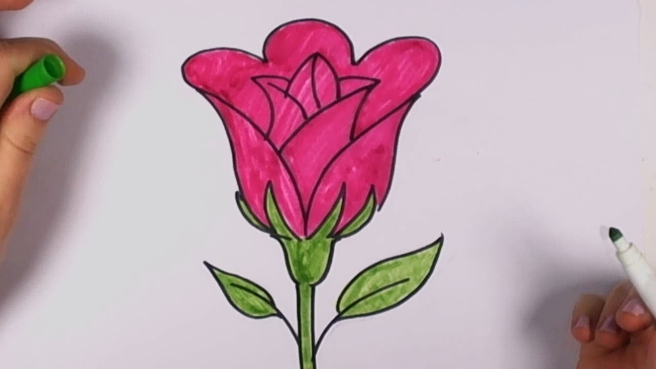 Фото как нарисовать цветок карандашом