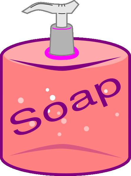 Blank detergent bottle 3d illustration isolated on white clipart
